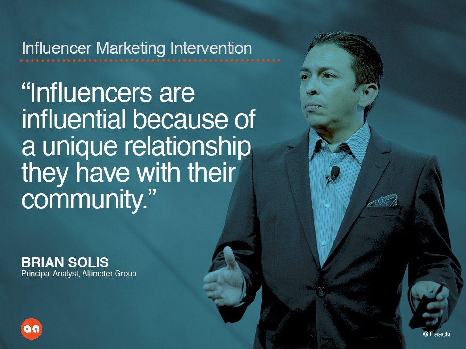 Influencer marketing Brian Solis