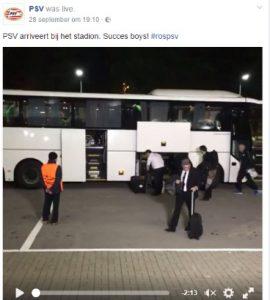 volgen van PSV op social media