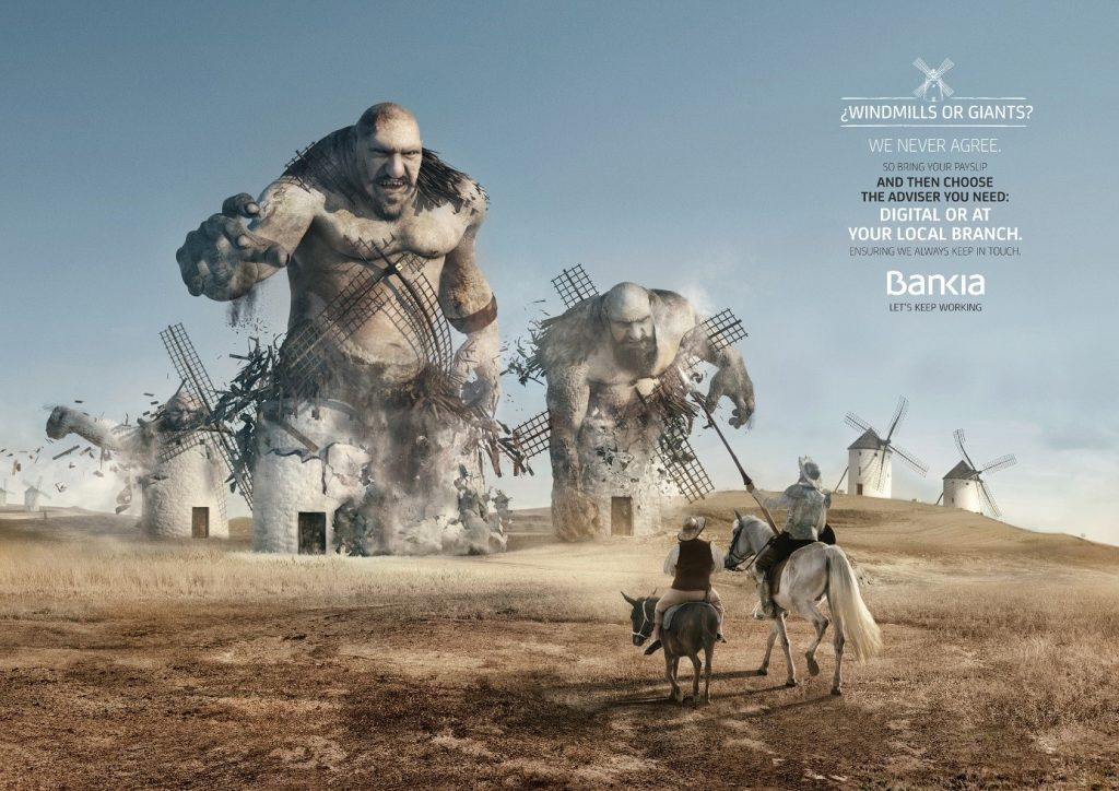 Don Quichotte Bankia