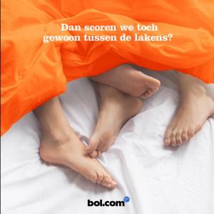 bol.com oranje reclame