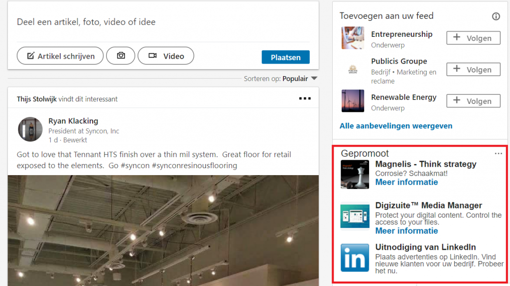 LinkedIn Ads tekstadvertenties
