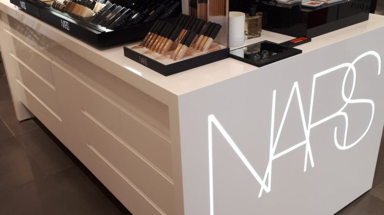 NARS stand in Parfuma Antwerpen