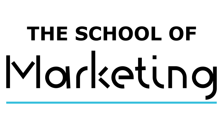 Logo the school of marketing