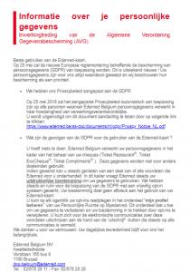 GDPR - Edenred